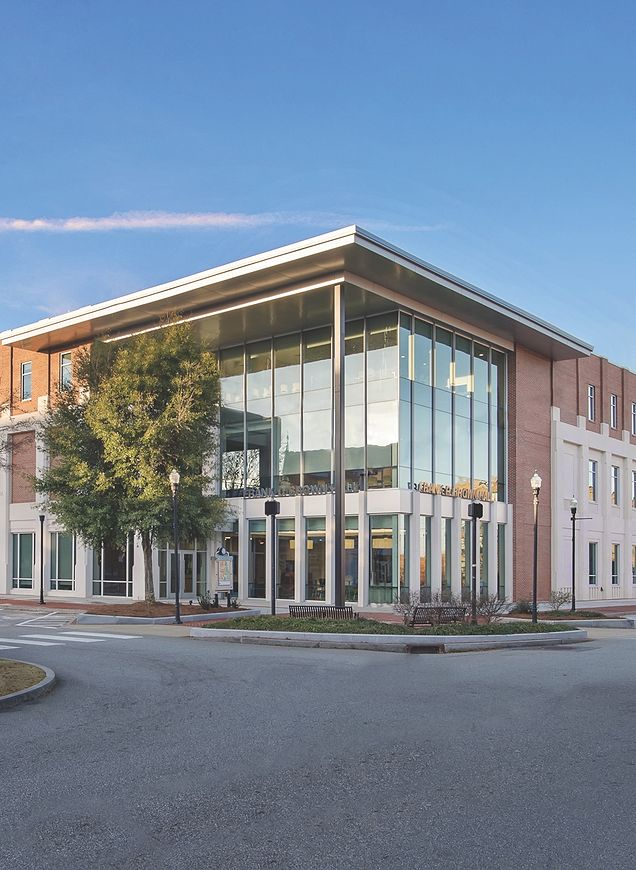 Building on the Columbus State University campus completed by CRH