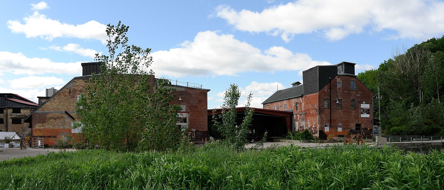 Redevelopment of the kiln buildings at Evergreen Brick Works